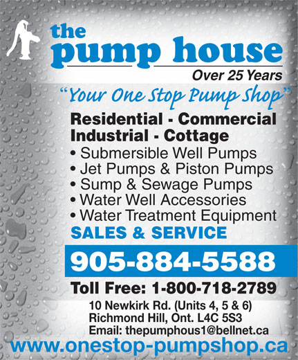 Sump Pumps Richmond Hill Ontario