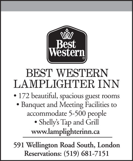Best Western Plus (519-681-7151) - Display Ad -