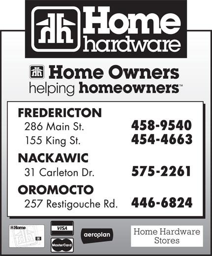 Home Hardware Building Centre (506-454-4663) - Annonce illustrée======= -
