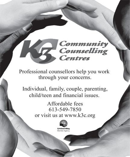 K3C Credit Counselling (613-549-7850) - Annonce illustrée======= -