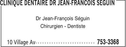 Clinique Dentaire (506-753-3368) - Annonce illustrée======= -