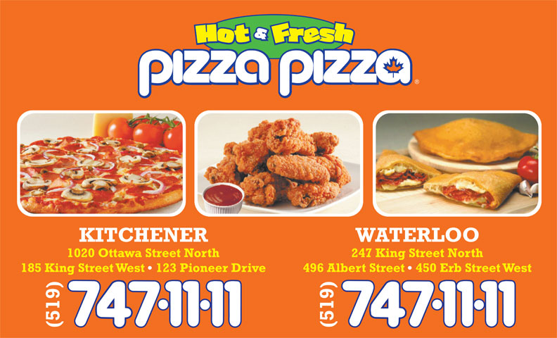 Pizza Pizza (519-747-1111) - Display Ad -