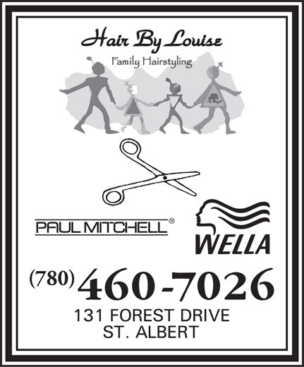 Hair By Louise (780-460-7026) - Display Ad - (780)