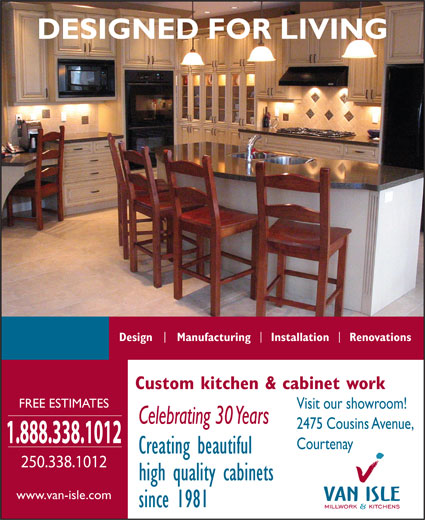 Ads Van-Isle Millwork & Kitchens Ltd
