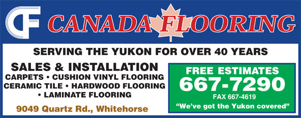 Ads Canada Flooring Enterprises Ltd
