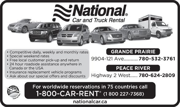 National Car Rental Grande Prairie Ab
