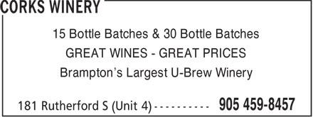 Ads Corks Winery