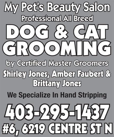 My Pet's Beauty Salon (403-295-1437) - Annonce illustrée======= -