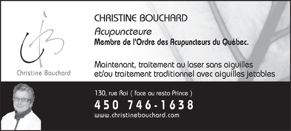 Ads Bouchard Christine