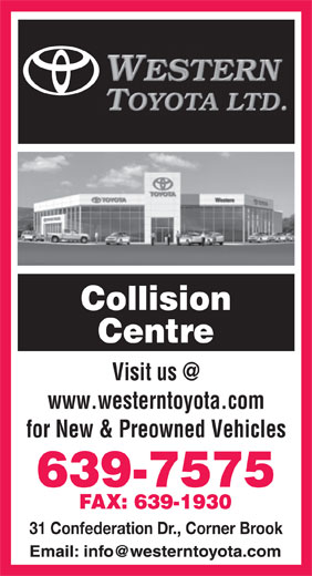 Ads Western Toyota Ltd