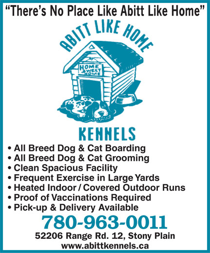 Stony Plain Dog Kennels