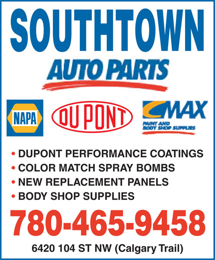 NAPA Auto Parts - Edmonton, AB - 6420 104 St NW | Canpages