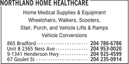 Unlimited Mobility Inc (204-786-6786) - Annonce illustrée======= - Home Medical Supplies & Equipment Wheelchairs, Walkers, Scooters, Stair, Porch, and Vehicle Lifts & Ramps Vehicle Conversions