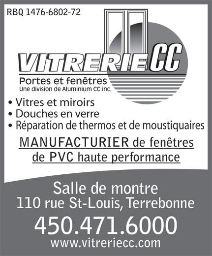 Vitrerie cc 110 rue saint louis terrebonne qc for Fenetre terrebonne