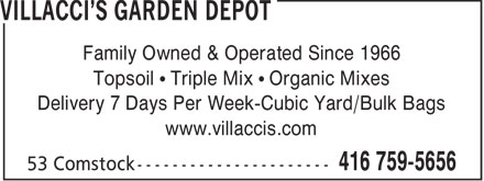 Villacci's (416-759-5656) - Annonce illustrée======= - Family Owned & Operated Since 1966 Topsoil   Triple Mix   Organic Mixes Delivery 7 Days Per Week-Cubic Yard/Bulk Bags www.villaccis.com  Family Owned & Operated Since 1966 Topsoil   Triple Mix   Organic Mixes Delivery 7 Days Per Week-Cubic Yard/Bulk Bags www.villaccis.com  Family Owned & Operated Since 1966 Topsoil   Triple Mix   Organic Mixes Delivery 7 Days Per Week-Cubic Yard/Bulk Bags www.villaccis.com  Family Owned & Operated Since 1966 Topsoil   Triple Mix   Organic Mixes Delivery 7 Days Per Week-Cubic Yard/Bulk Bags www.villaccis.com  Family Owned & Operated Since 1966 Topsoil   Triple Mix   Organic Mixes Delivery 7 Days Per Week-Cubic Yard/Bulk Bags www.villaccis.com  Family Owned & Operated Since 1966 Topsoil   Triple Mix   Organic Mixes Delivery 7 Days Per Week-Cubic Yard/Bulk Bags www.villaccis.com  Family Owned & Operated Since 1966 Topsoil   Triple Mix   Organic Mixes Delivery 7 Days Per Week-Cubic Yard/Bulk Bags www.villaccis.com  Family Owned & Operated Since 1966 Topsoil   Triple Mix   Organic Mixes Delivery 7 Days Per Week-Cubic Yard/Bulk Bags www.villaccis.com  Family Owned & Operated Since 1966 Topsoil   Triple Mix   Organic Mixes Delivery 7 Days Per Week-Cubic Yard/Bulk Bags www.villaccis.com  Family Owned & Operated Since 1966 Topsoil   Triple Mix   Organic Mixes Delivery 7 Days Per Week-Cubic Yard/Bulk Bags www.villaccis.com