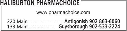 Haliburton PharmaChoice Home Health Care (902-863-6060) - Annonce illustrée======= - www.pharmachoice.com