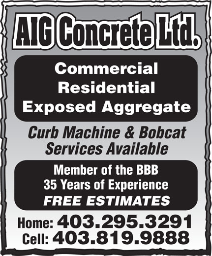 Ads AIG Concrete & Construction