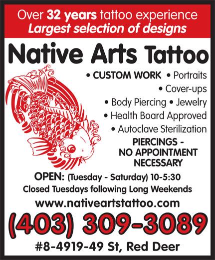 Millennium Home Design Wilmington Nc: Native Arts Tattoo & Piercing