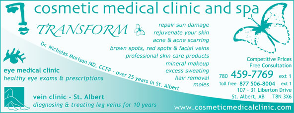 Dr N J Morison (780-459-7769) - Display Ad - 459-7769 877 506-8004