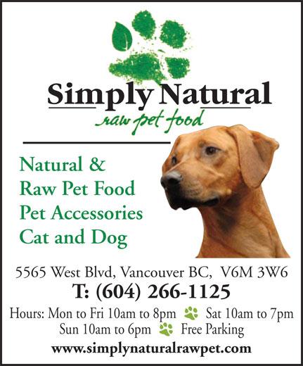Raw Dog Food Langley Bc