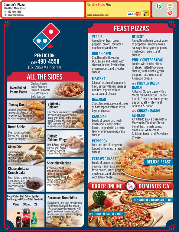 dominos pizza delivery and new inspired pizza essay
