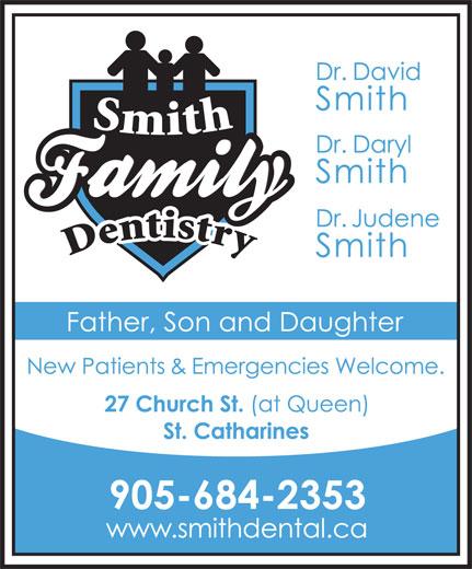 Smith Family Dentistry (905-684-2353) - Display Ad -