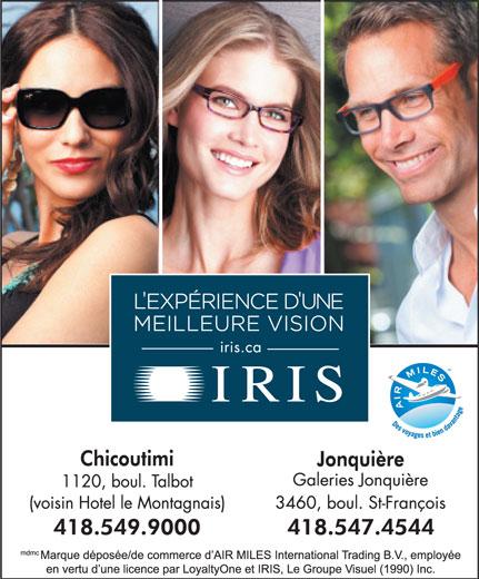 Iris (418-549-9000) - Annonce illustrée======= -