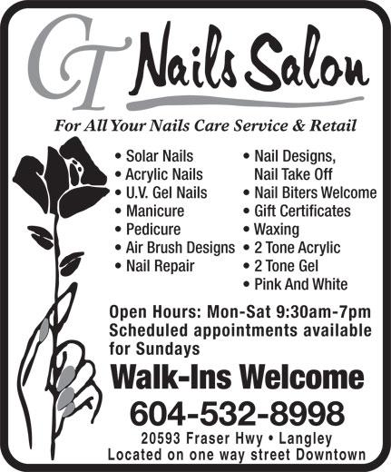 Ads CT Nails Salon