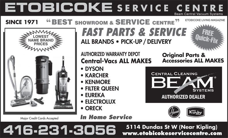 Beam Central Vacuum Systems 5114 Dundas St W Etobicoke On