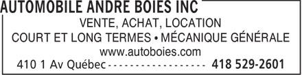 Automobile André Boies Inc (418-529-2601) - Annonce illustrée======= - VENTE, ACHAT, LOCATION COURT ET LONG TERMES   MCANIQUE GNRALE www.autoboies.com  VENTE, ACHAT, LOCATION COURT ET LONG TERMES   MCANIQUE GNRALE www.autoboies.com  VENTE, ACHAT, LOCATION COURT ET LONG TERMES   MÉCANIQUE GÉNÉRALE www.autoboies.com  VENTE, ACHAT, LOCATION COURT ET LONG TERMES   MÉCANIQUE GÉNÉRALE www.autoboies.com  VENTE, ACHAT, LOCATION COURT ET LONG TERMES   MCANIQUE GNRALE www.autoboies.com  VENTE, ACHAT, LOCATION COURT ET LONG TERMES   MCANIQUE GNRALE www.autoboies.com  VENTE, ACHAT, LOCATION COURT ET LONG TERMES   MÉCANIQUE GÉNÉRALE www.autoboies.com  VENTE, ACHAT, LOCATION COURT ET LONG TERMES   MÉCANIQUE GÉNÉRALE www.autoboies.com  VENTE, ACHAT, LOCATION COURT ET LONG TERMES   MCANIQUE GNRALE www.autoboies.com  VENTE, ACHAT, LOCATION COURT ET LONG TERMES   MÉCANIQUE GÉNÉRALE www.autoboies.com  VENTE, ACHAT, LOCATION COURT ET LONG TERMES   MÉCANIQUE GÉNÉRALE www.autoboies.com  VENTE, ACHAT, LOCATION COURT ET LONG TERMES   MCANIQUE GNRALE www.autoboies.com  VENTE, ACHAT, LOCATION COURT ET LONG TERMES   MCANIQUE GNRALE www.autoboies.com  VENTE, ACHAT, LOCATION COURT ET LONG TERMES   MÉCANIQUE GÉNÉRALE www.autoboies.com  VENTE, ACHAT, LOCATION COURT ET LONG TERMES   MÉCANIQUE GÉNÉRALE www.autoboies.com  VENTE, ACHAT, LOCATION COURT ET LONG TERMES   MCANIQUE GNRALE www.autoboies.com