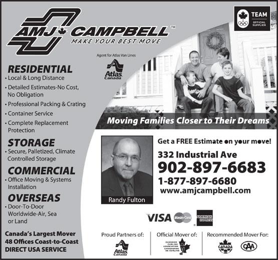 AMJ Campbell (902-897-6683) - Annonce illustrée======= -