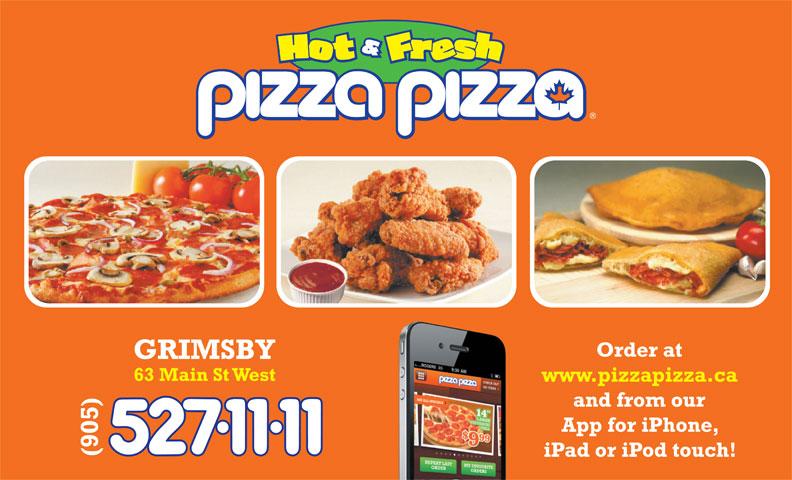 Pizza Pizza (905-527-1111) - Annonce illustrée======= -