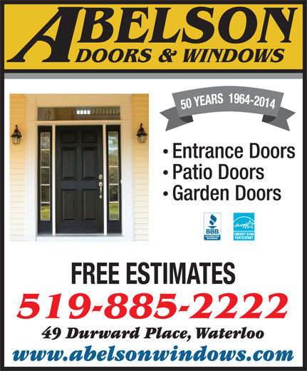 abelson windows doors 49 durward pl waterloo on