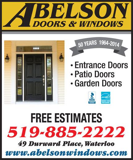 abelson windows doors 49 durward pl waterloo on