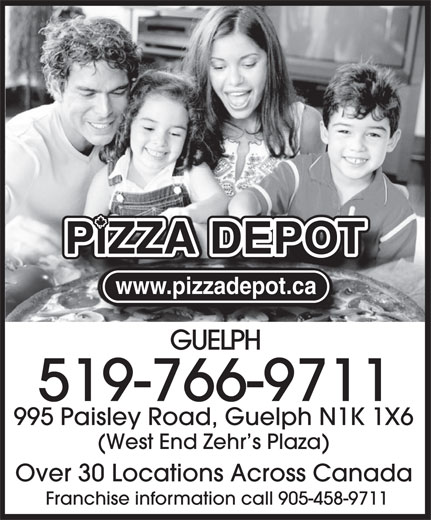 Pizza Depot (519-766-9711) - Display Ad -