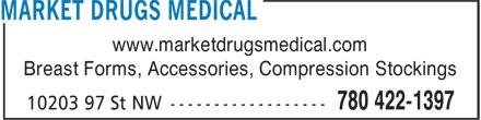 Market Drugs Medical (780-422-1397) - Annonce illustrée======= -