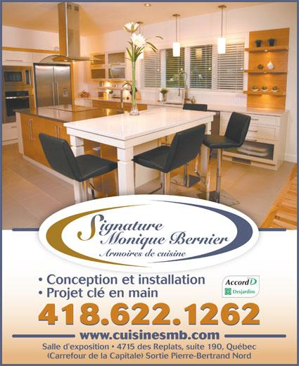 Armoires de cuisine bernier 190 4715 av des replats for Armoires de cuisine bernier inc