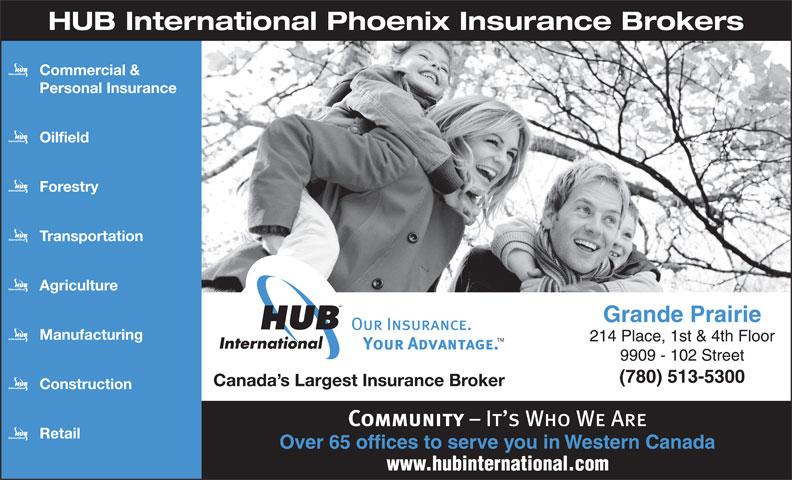 Phoenix Insurance Brokers (780-513-5300) - Annonce illustrée======= -