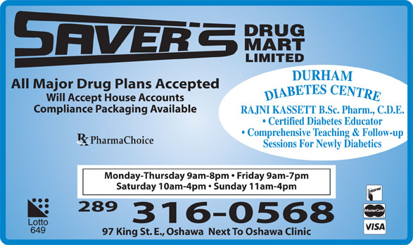 Ads Saver's Drug Mart Limited