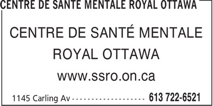 Centre de santé mentale Royal Ottawa (613-722-6521) - Annonce illustrée======= - CENTRE DE SANTÉ MENTALE ROYAL OTTAWA www.ssro.on.ca  CENTRE DE SANTÉ MENTALE ROYAL OTTAWA www.ssro.on.ca  CENTRE DE SANTÉ MENTALE ROYAL OTTAWA www.ssro.on.ca  CENTRE DE SANTÉ MENTALE ROYAL OTTAWA www.ssro.on.ca  CENTRE DE SANTÉ MENTALE ROYAL OTTAWA www.ssro.on.ca  CENTRE DE SANTÉ MENTALE ROYAL OTTAWA www.ssro.on.ca  CENTRE DE SANTÉ MENTALE ROYAL OTTAWA www.ssro.on.ca  CENTRE DE SANTÉ MENTALE ROYAL OTTAWA www.ssro.on.ca