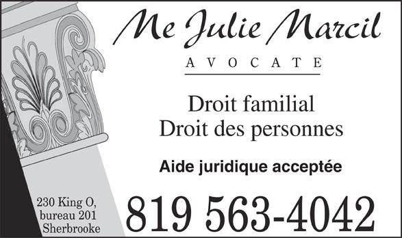 Marcil Julie (819-563-4042) - Annonce illustrée======= -