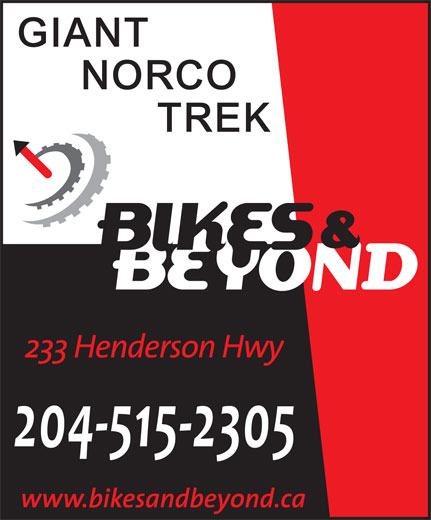 Bikes & Beyond (204-669-5590) - Display Ad -
