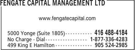 Ads Fengate Capital Management