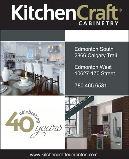 Kitchen Cupboards Edmonton: 2866 Calgary Trail NW, Edmonton, AB