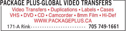 Ads Package Plus-Global Video Transfers