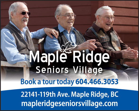 Ads Maple Ridge Seniors Village