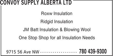 Convoy Supply 9715 56 Ave Nw Edmonton Ab