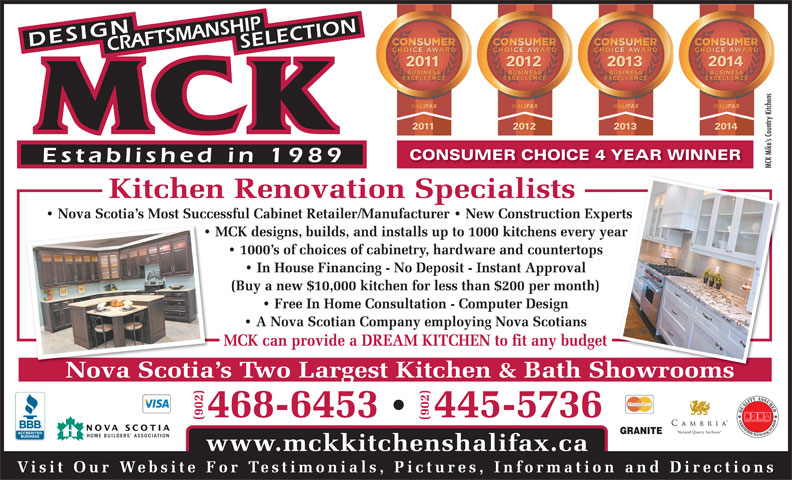 Countertop Ice Maker Edmonton : Mikes Country Kitchens & Woodworking Canpages