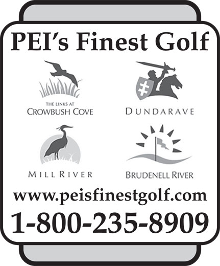 Links At Crowbush Cove Golf Course (1-800-235-8909) - Annonce illustrée======= - PEI s Finest Golf www.peisfinestgolf.com 1-800-235-8909