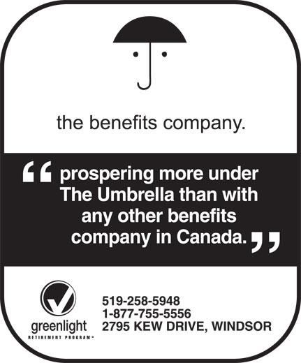 The Benefits Company (519-258-5948) - Annonce illustrée======= -